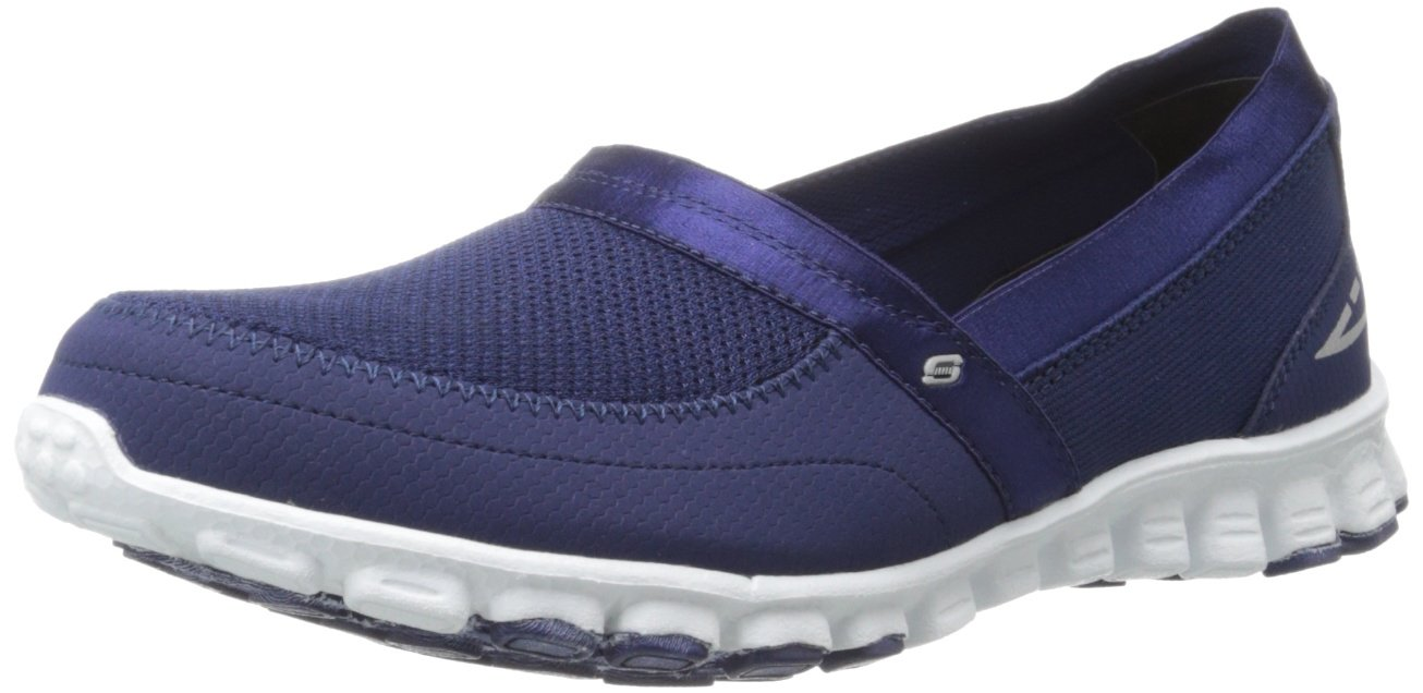 Skechers EZ Flex Take-It-Easy Damen Sneakers  35 EU|Azul/Blanco (Navy/White)