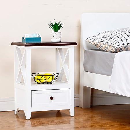 Amazon.it: mensole Comodini Camera da letto: Casa e cucina