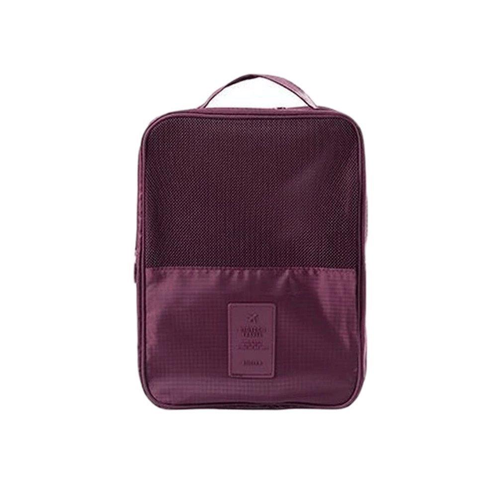 Multicolor Shoe Storage Travel Bag Waterproof Organizer Bag With Zipper