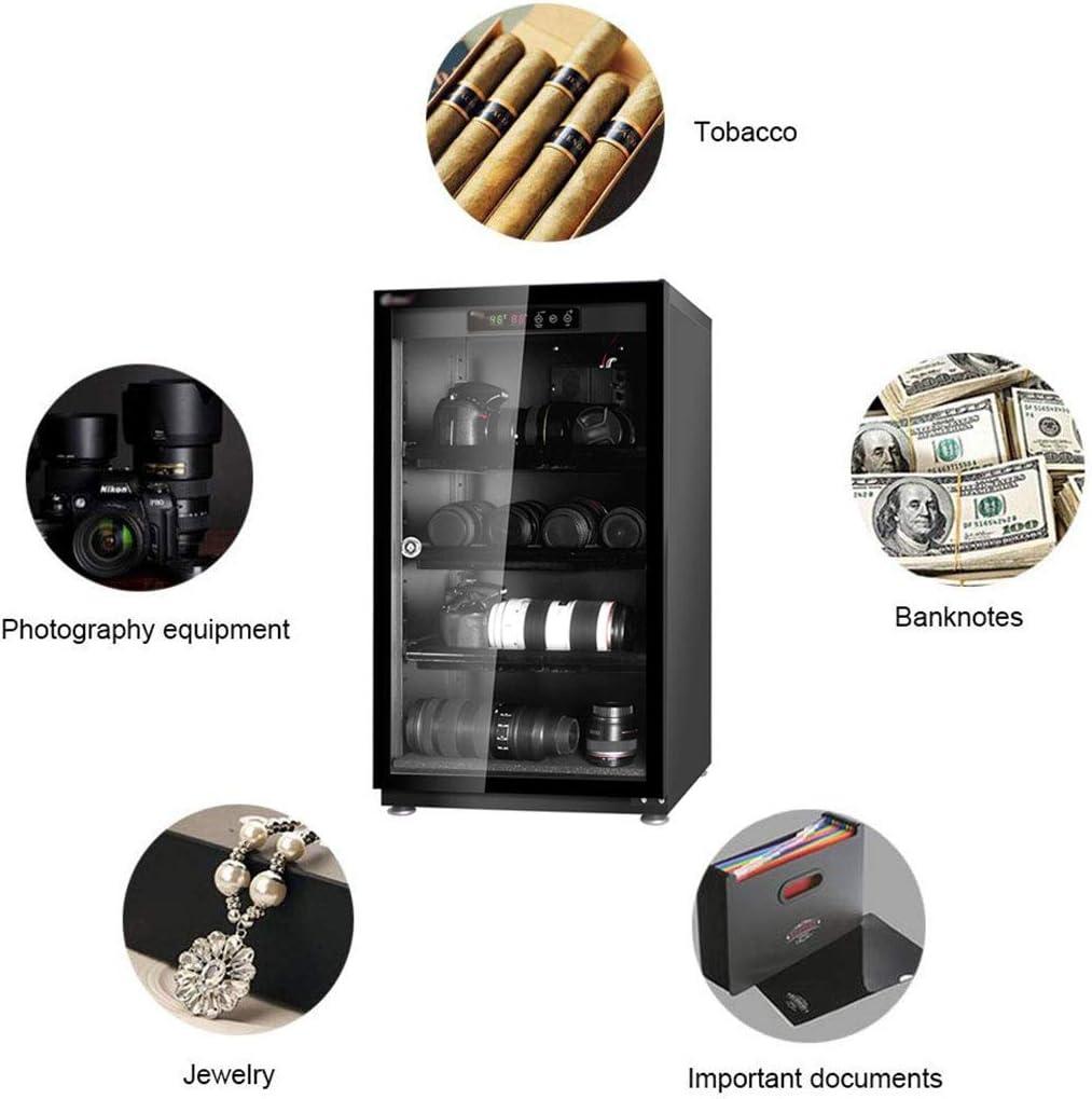 LXDDP Armadietto elettronico a Secco Professionale, Scatola per deumidificatore per Obiettivo Fotocamera Reflex e deposito Attrezzatura Fotografica, Nero, 70L/85L/100L 85l ekdeg