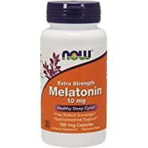 ... NOW Melatonin 10mg,100 Veg Capsules