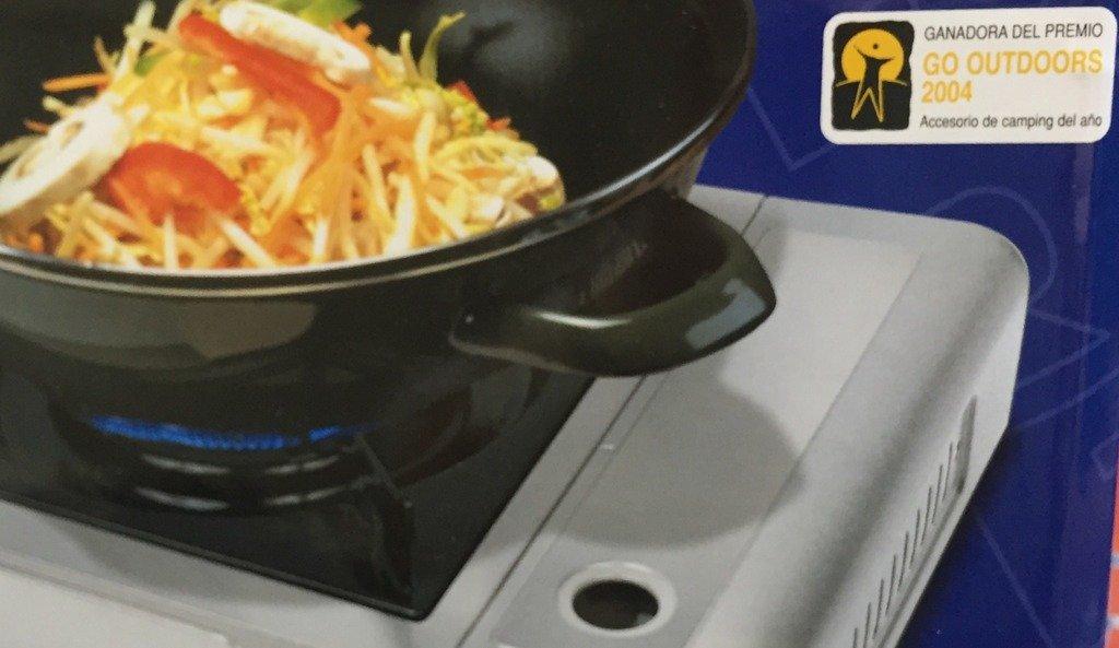 Cocina portátil de gas Butsir - Ideal para camping, catering, barcos, aire libre, barbacoas, camiones, caravana, picnics, jardines o fondues - Premio GO ...
