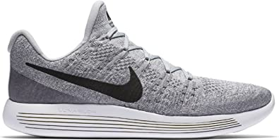 f2663ded0e9 Nike Men s Lunarepic Low Flyknit 2 Competition Running Shoes Grey Grau ...