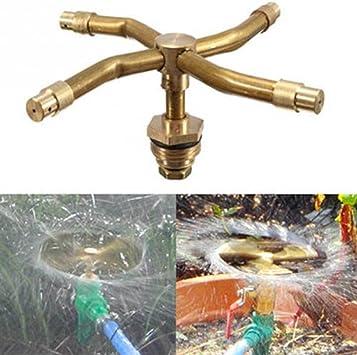 Difusor de agua para riego, orientable con 4 boquillas, para regar el jardín, los cultivos, las plantas.: Amazon.es: Electrónica