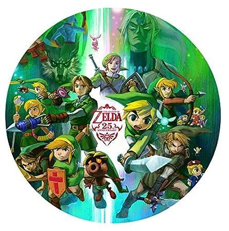 Amazon.com: Legend of Zelda 25th Anniversary Edible Image ...