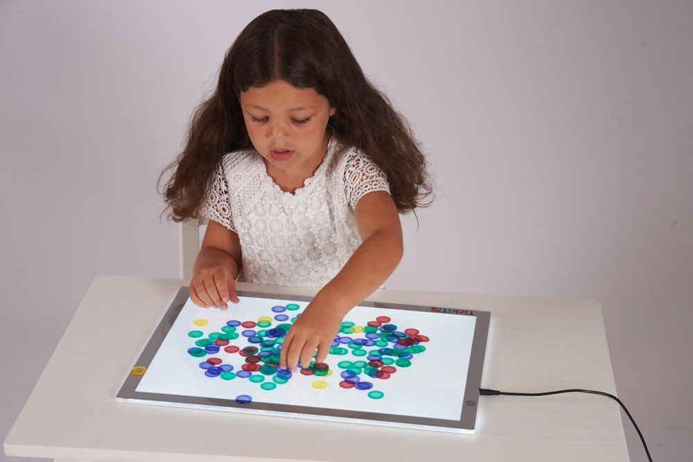 TickiT Ultra Bright Led Light Panel for kids