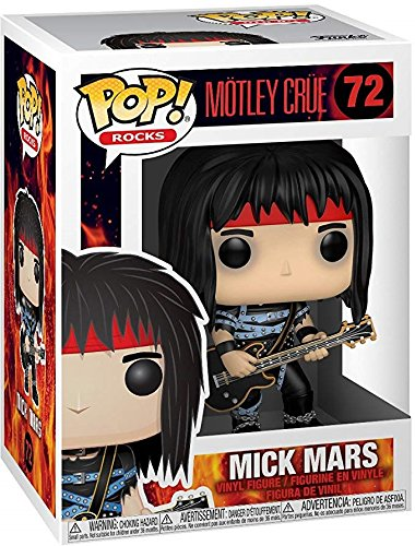 Rocks: M/ötley Cr/üe Funko Pop Includes Pop Box Protector Case Mick Mars #72 Vinyl Figure