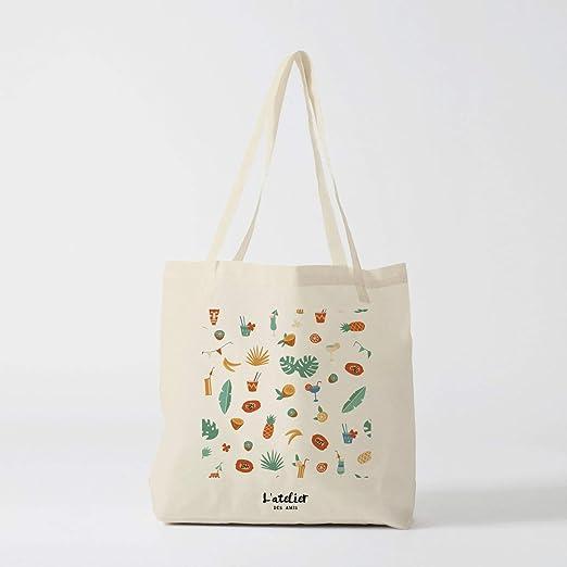 Bolso de mano para verano, bolsa de algodón para el sol, bolso de algodón para la novia, bolso de bachelorette, bolsa de regalo negra: Amazon.es: Hogar