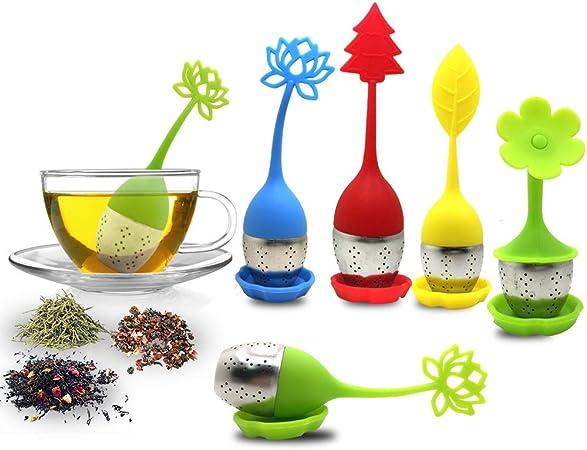 Edelstahl Lose Tee-ei Blatt Sieb Filter Diffusor KräutergewürYRDE