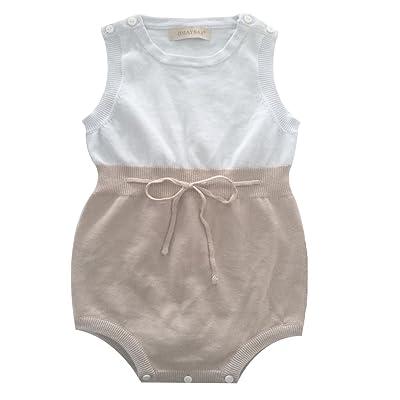 4820cd43b Omayssa Omaysaa Newborn Toddler Baby Boy Girl Sleeveless Knit ...