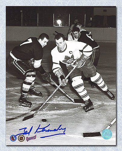 Teeder Kennedy Toronto Maple Leafs Autographed 8X10 Photo - Autographed Hockey Photos