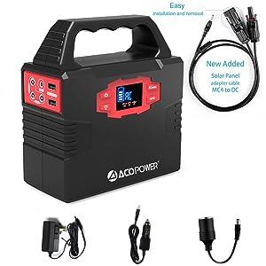 ACOPOWER 150Wh AC出力100W ポータブル電源