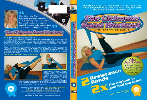Steffanie Lyons' Ultimate Band Workout - 2x the workout in 1/2 the time with two Resistance Bands!
