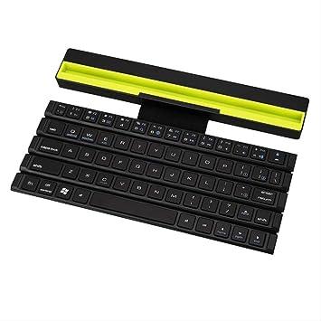 Teclado Bluetooth Plegable Mini Teclado Plegable Portátil ...