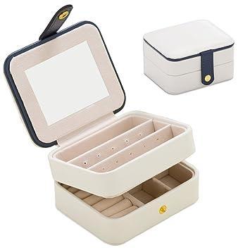 Amazoncom Jewelry Organizer BoxNasionV Travel Portable Jewelry