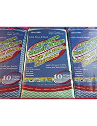 Gain 10 Pack Cavalier Mills All Purpose Wipes blue & Green Color saleoff