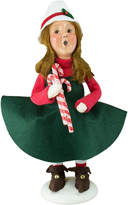 Byers elección polo norte colección Mitzi elfo con bastones de ...