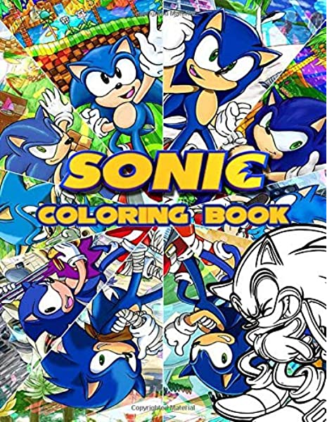 - Sonic Coloring Book: Ultimate Color Wonder Sonic The Hedgehog Coloring Book  Pages Wonderful Gift For Kids And Adults: Levitt, Jay: 9798615217647:  Amazon.com: Books