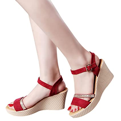 a28337f34a6 Amazon.com: AIMTOPPY HOT Sale, Women Fish Mouth Platform High Heels ...
