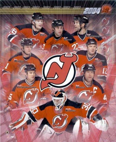 2004 New Jersey Devils 8x10 Photo Martin Brodeur Scott Stevens Scott Niedermayer Patrick Elias Scott Gomez