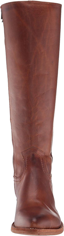 Frye Womens Billy Inside Zip Tall Western Boot