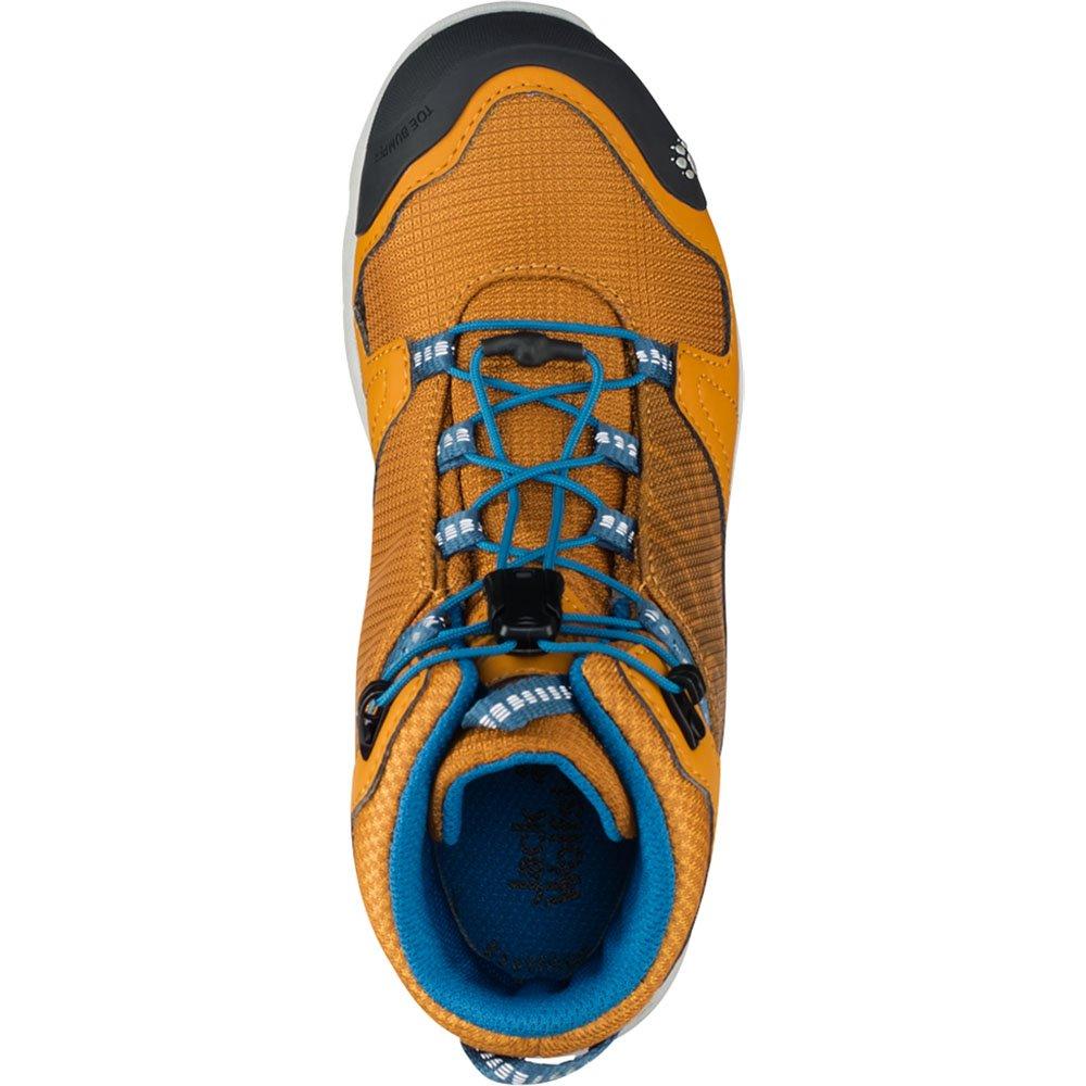 Jack Jack Jack Wolfskin Jungen Akka Texapore Mid B Wasserdicht Trekking-& Wanderstiefel, Vibrant Blau, One Größe  1601a2