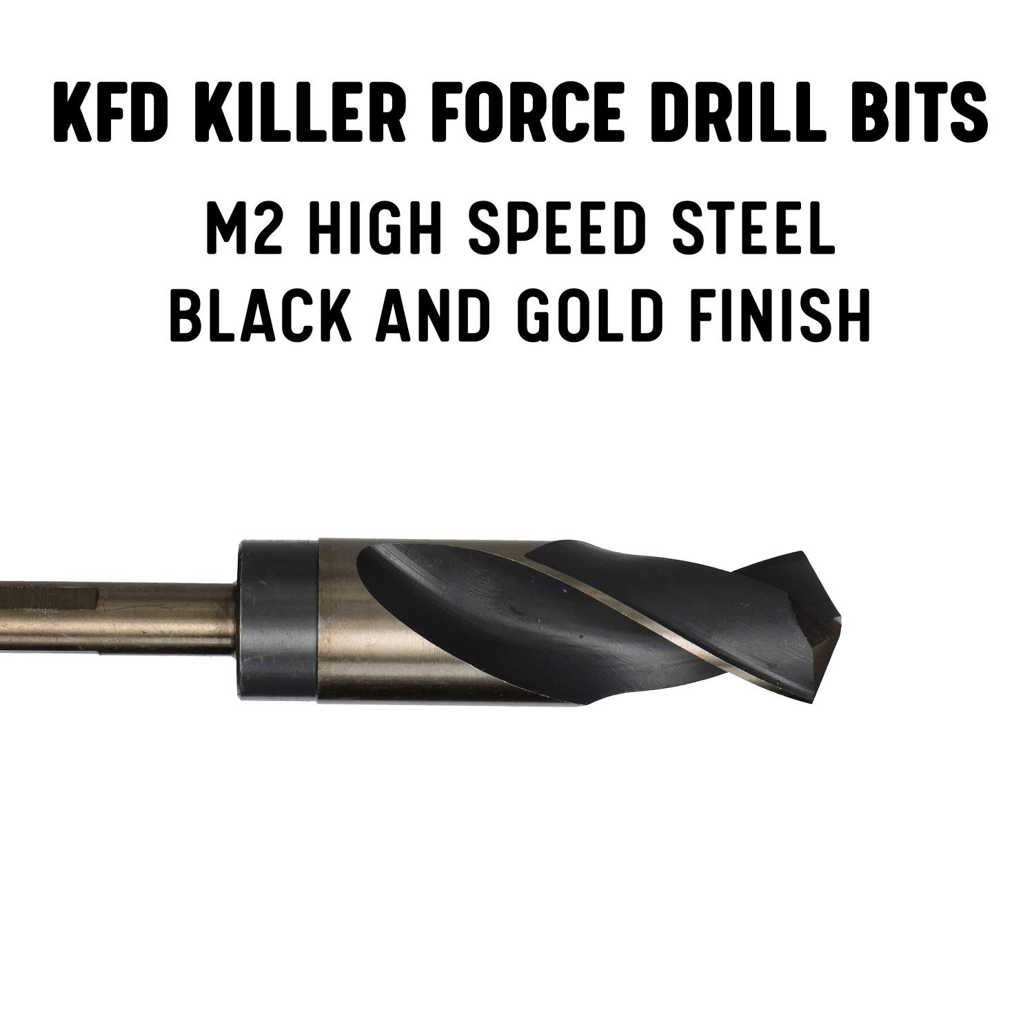 41//64 Heavy Duty Black /& Gold Silver /& Deming Drill