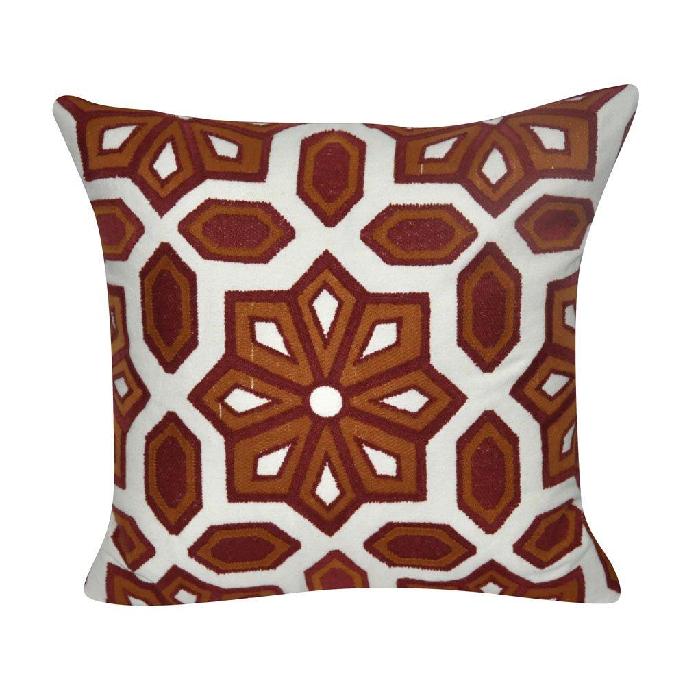 ルームとミルEccentricダークGardens布張りデザイン装飾Plushとふわふわアクセント装飾枕、20