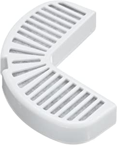 Pioneer Pet Replacement Filters for Ceramic & Stainless Steel Fountains, Raindrop Filters