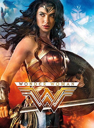 Buffalo Games - Wonder Woman - Glow in the Dark 1000 Piece Jigsaw Puzzle