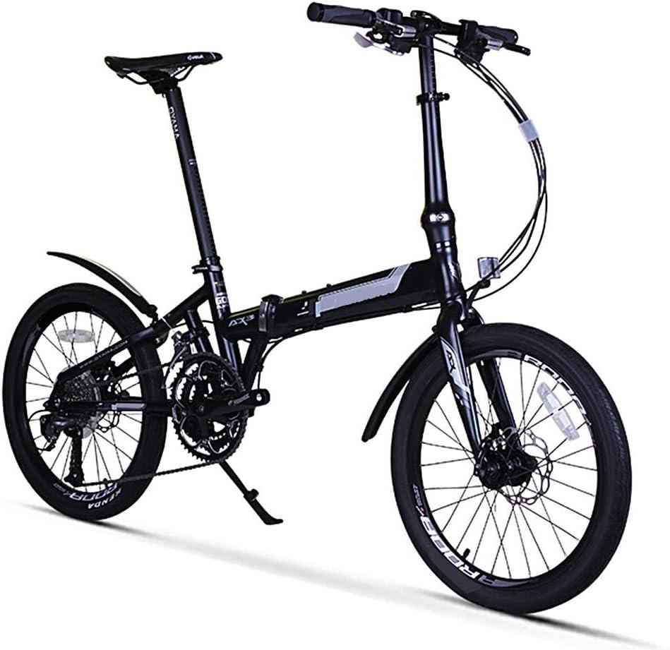 S.N S Bicicleta de montaña Plegable Aleación de Aluminio Cambio ...