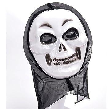 PromMask Mascara Facial Careta Protector de Cara dominó Frente Falso Horror Fantasmas Vienen a la máscara