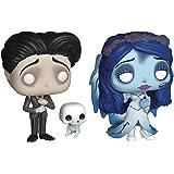 "Funko Pop! Movies: Corpse Bride Collectible Vinyl Figures, 3.75"" (Set of 2)"