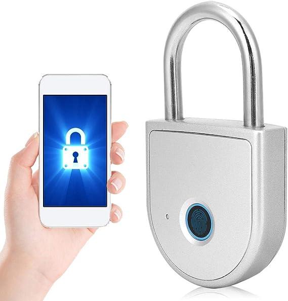 palestra registratori di cassa Lucchetto intelligente di sicurezza ricaricabile USB impronta digitale USB in lega di zinco W10 mobile per armadi per ufficio