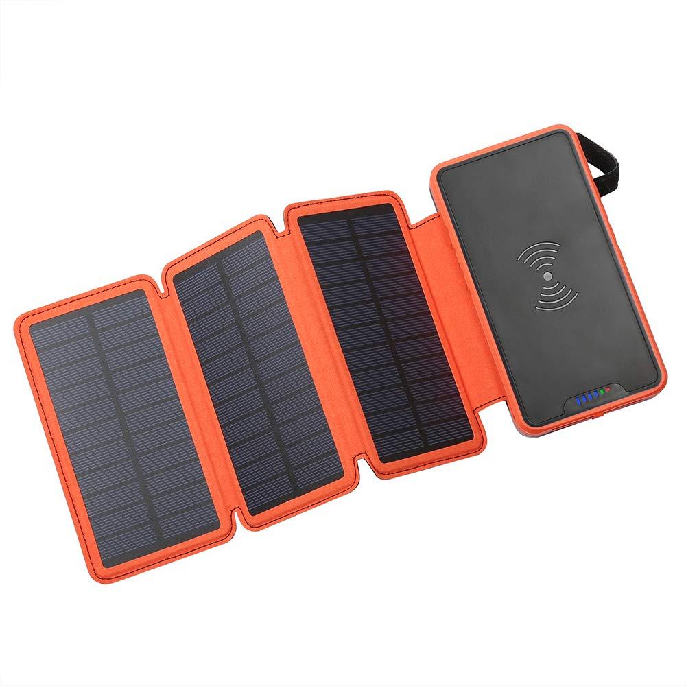 Cargador Solar Portatil con Bateria de 20000mah IZCCKN