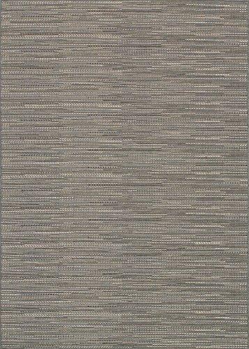 Monaco Larvotto Area Rugs, 5-Feet 3-Inch by 7-Feet 6-Inch, Grey ()