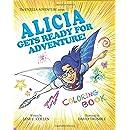 8x10Coloring Book Alicia Gets Ready (The Enjella Adventure Series)
