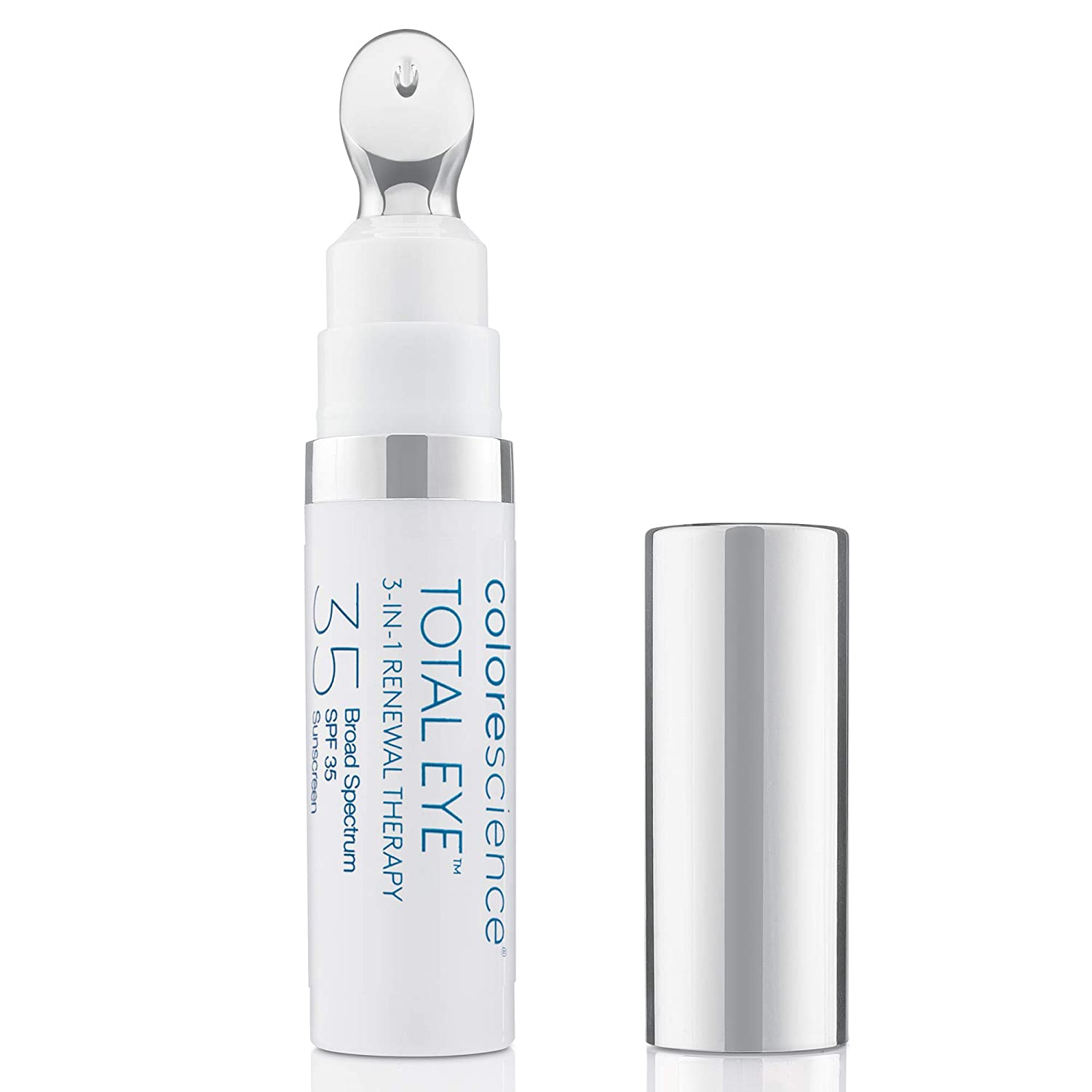 Colorescience Total Eye 3-in-1 Renewal Therapy, 0.23 Fl Oz: Premium Beauty