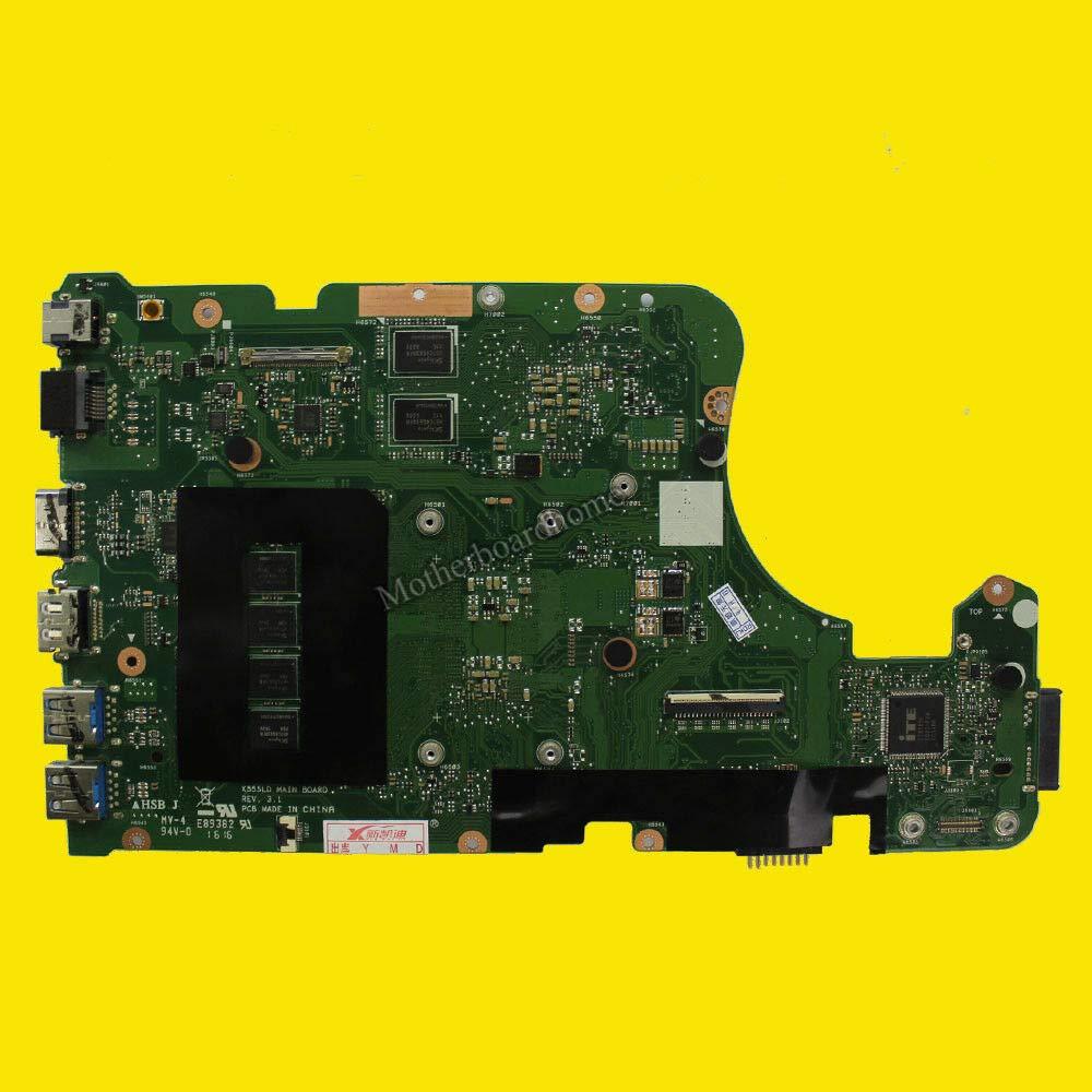 FidgetGear ASUS X555L X555LD X555LJ X555LP X555LI W / I7-5500U GT930M用X555LFマザーボード   B07R8SXRYL