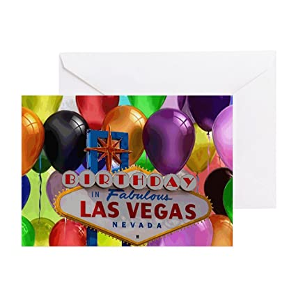 amazon com cafepress birthday in las vegas balloon greeting