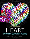 Mindfulness Heart Coloring Book For Adults: Heart with Doodle Art for Relaxation