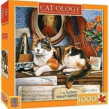 MasterPiece Cat-ology Gerschwin - Piano Cat 1000 Piece Jigsaw Puzzle by Geoffrey Tristram