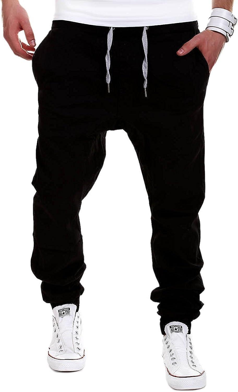 Minetom Homme Casual Baggy Sarouel Pantalon de Sport Jogging Fitness Loose Crotch Pants de Surv/êtement