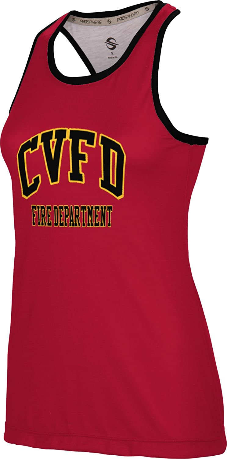 Women's Chaba Valley Fire & Emergency Medical Rescue District Fire Department Crisscross Loose Training Tank