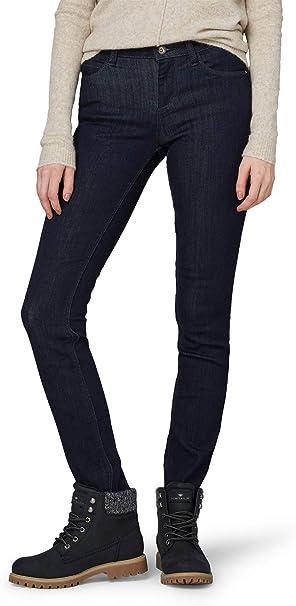 TOM TAILOR Damen Slim Jeans Alexa Slim: : Bekleidung