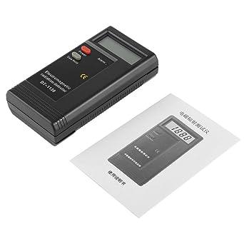 Funnyrunstore 1 UNIDS Electromagnético Detector de Radiación LCD Digital EMF Meter Dosímetro Tester En Computadoras Teléfono