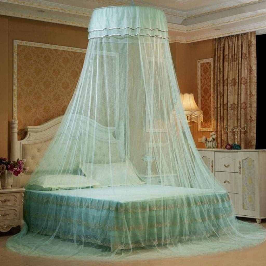 JBHURF Children's Mosquito net Canopy Children's Mosquito net Folding Mosquito net Baby nets Baby nets for All Types of beds (Color : Green) by JBHURF