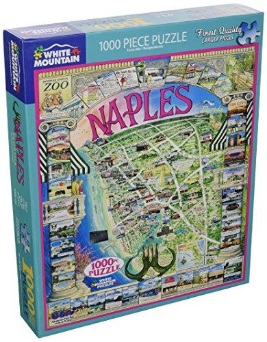 White Mountain Puzzles Naples Florida   1000 Piece Jigsaw Puzzle