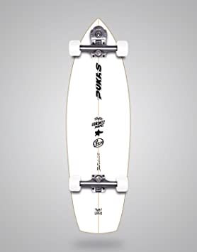 "Surfskate monopatín skateboard longboard YOW PUKAS - LA LOCA 31.5"""