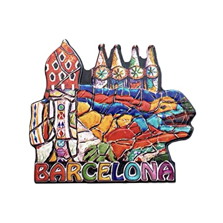 3D Gaudi Lizard Barcelona España Refrigerador Imán de Nevera ...